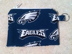 Eagles Coin Purse, Philadelphia Zipper Pouch with Key Chain Padded Coin Purse on Etsy, $5.00
