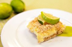 De Lime in de Coconut Bars - sounds yummy and I am a huge fan of citrus so I need to try these