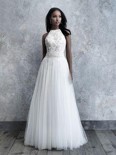 bcc9e9aa48f Fully Lace Open Back Jumpsuit. Western Wedding DressesBridal DressesHigh  Neck ...