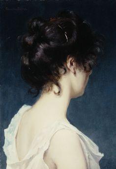 23silence:    Albert-Ernest Carrier-Belleuse (1824-1887) - Figure study