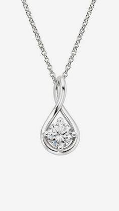 Diamond Twist Pendant