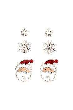Crystals Snowflakes and Santa Set