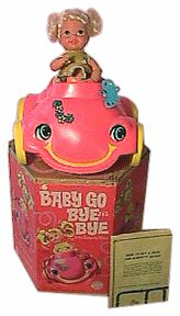 Baby Go Bye Bye -- another favorite.  You could program her car to ride in patterns.