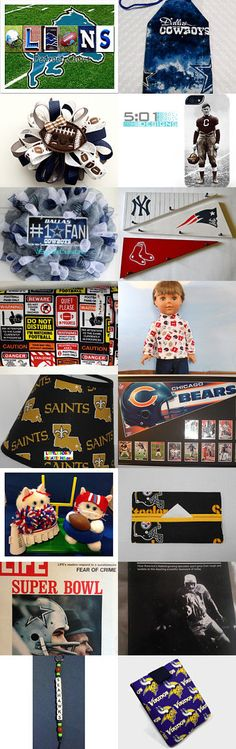 The Birth of Football by Lisa Kraft on Etsy--Pinned with TreasuryPin.com