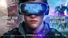 New Trailer and Poster for Ready Player One - Book Space