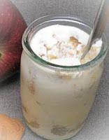 Эликсир молодости: Кефир с яблоком и корицей