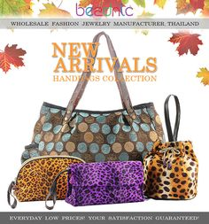 40+ Hot Additions to Handbags Collection for AW 12/13 - Shop Now at www.beadnic.com