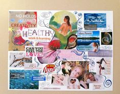 7 Easy Steps to Create an Intuitive Vision Board - Dominique Hurley - Intuitive Art & Inspiration Visualisation, Learning Environments, Better Life, Self Improvement, Intuition, Law Of Attraction, Boards, Feelings, Board Ideas