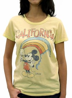 Classic vintage disney tee  #California #Mickeymouse  $14  http://www.junkfoodclothing.com/webapp/wcs/stores/servlet/Product1_10052_10051_-1_20596_10552_20668