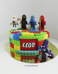 Ninjago cake childrens birthday cakes lego ninjago for Ninjago zimmer deko