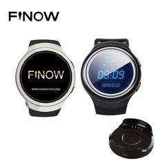 d474f9c8a7a Finow X3 K9 Smart Watch Android 4.4 Bluetooth 3G WIFI WCDMA GPS Sim 512MB  RAM 4GB