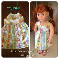 Fiji Sunsuit dress for toddler and marching doll dress https://www.facebook.com/FitlySewn/