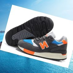 New Balance 998 Men shoes grey/Orange Purchase Price HOT SALE! HOT PRICE!