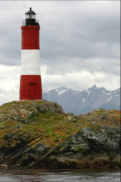 Faro del fin del mundo. Canal de Beagle. Tierra Del Fuego, Argentina