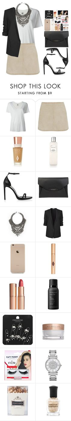 """Stiches "" by vanessasimao1999 ❤ liked on Polyvore featuring NSF, KaufmanFranco, Charlotte Tilbury, Laura Mercier, Yves Saint Laurent, Givenchy, DYLANLEX, Helmut Lang, Living Proof and Topshop"