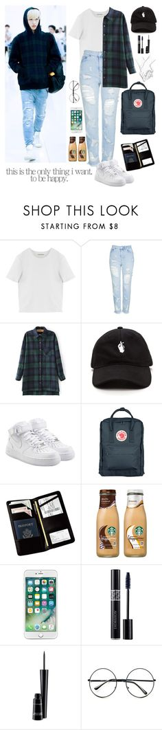 """""""Untitled #888"""" by oned-rita3 ❤ liked on Polyvore featuring GET LOST, Acne Studios, Topshop, NIKE, Fjällräven, Royce Leather, Christian Dior, MAC Cosmetics and Retrò"""