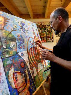 Dan Casado -- I LOVE his work!  At work | Flickr - Photo Sharing!
