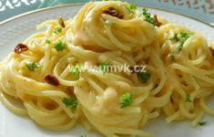 Hlavní jídla – U Miládky v kuchyni Spaghetti, Menu, Pasta, Hub, Ethnic Recipes, Food, Menu Board Design, Essen, Meals