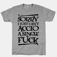 Sorry I Just Can't Accio A Single... | T-Shirts, Tank Tops, Sweatshirts and Hoodies | HUMAN
