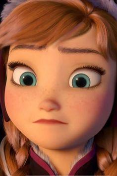 Disney Princess Frozen, Anna Frozen, Facial Expressions, Princesas Disney, Wallpaper Quotes, Elsa, Anime Art, Disney Characters, Fictional Characters