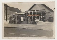 Tooting Petrol Station c1930 Petrol Pumps Garage signs advertising London photograph #Vintage#Tooting #Petrol #Station c#1930 #Petrol #Pumps #Garage #signs #oils  #advertising #London #photograph
