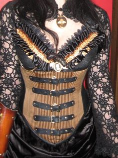 Steampunk Saloon Gal, Wild Wild West