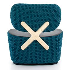 Dutch designer Richard Hutten explains why he designed a chair with a distinctive X-shape on the back for Italian furniture brand Moroso