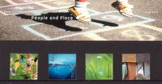 British Stamps 2000 - Millennium Projects (6th Series). 'People and Places' - (2000)