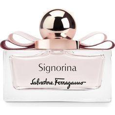 SALVATORE FERRAGAMO Signorina eau de parfum ($83) ❤ liked on Polyvore featuring beauty products, fragrance, salvatore ferragamo fragrance, salvatore ferragamo, eau de perfume, edp perfume and salvatore ferragamo perfume