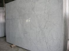 White Carrara random slabs