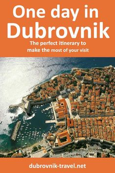 What to do if you are visiting Dubrovnik just for one day. A guide that includes practical info with a relaxing and doable itinerary for visiting the town. Saint Blaise, Croatia Itinerary, Best Swimming, Old Port, St Lawrence, Dubrovnik Croatia, One Day, Public Transport, The Locals