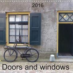 Doors and windows - CALVENDO calendar by SchnelleWelten