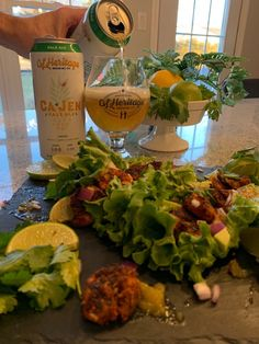 GL Heritage Ca-Jen Pale Ale with Blackened Shrimp Tacos. Blackened Seasoning, Blackened Shrimp, Taco Ingredients, Essex County, Green Chilli, Shrimp Tacos, Complete Recipe, 1 Pound, Fresh Lime Juice