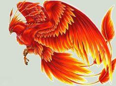 34 Mejores Imágenes De Ave Fenix Firebird Phoenix Rising Y Drawings