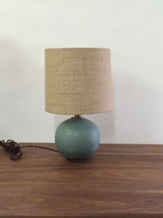 Victoria Morris Soft Blue Sphere Lamp
