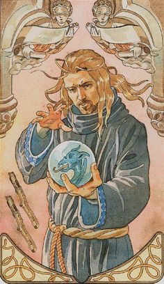 Two of Wands - Sorcerers Tarot