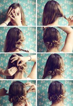 The Easiest Hair Do | hairstyles tutorial