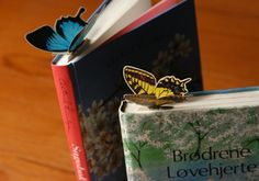Butterfly bookmarks!