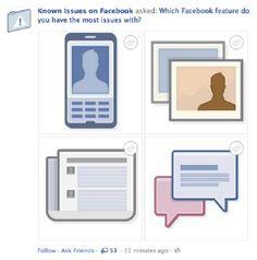 Facebook começa a testar novo visual para ferramenta 'perguntas'