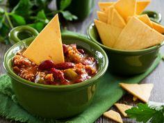 Healthy Homemade Nachos and Salsa Recipe