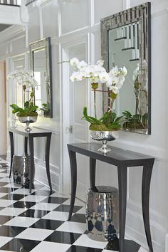 susan glick designs, COLLABORATION WITH TIFFANY EASTMAN INTERIORS. hall tables