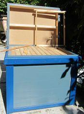 beehive combi deck contactless bienenzucht bienenbeuten beehives pinterest bienen tier. Black Bedroom Furniture Sets. Home Design Ideas