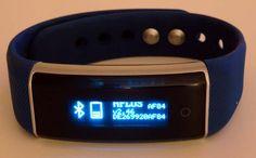 smartband Zeblaze ZeBand BLE 4.0 - batterie
