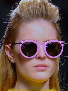 a97baf1eb6 Karen Walker Fall 2012 Pink Sunglasses
