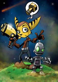 Bruyn - The art of Craig Bruyn: Ratchet and Clank