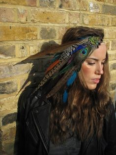 Hippy glam - I'm so going to try and make this before my next festival :)