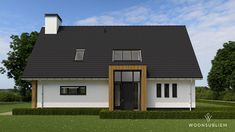 This kind of farmhouse garage doors is a very inspirational and wonderful idea Garage Door Design, Garage Doors, Dutch House, Living Place, Bungalow, House Plans, Shed, New Homes, Farmhouse
