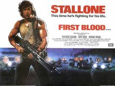 Rambo: First Blood 11x17 Movie Poster (1982)