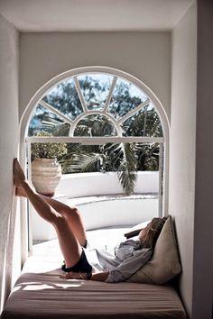 Window seat / lazy