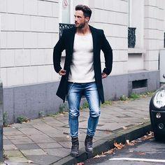 Daniel F. [Coat : Selected, Jeans : Asos, Shoes : Jades]